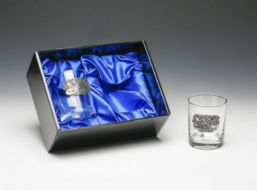 Mullingar Pewter Whiskey Glass Set